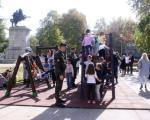Novi mobilijar, za bezbednu igru dece na Trgu kralja Aleksandra