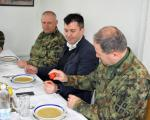 Министар Ђорђевић обишао војне базе на југу Србије