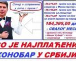 Državni sekretar Boske najplaćeniji konobar u Srbiji