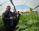 Лесковац: Посета пољопривредном газдинству Марјановић