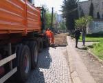 Asfaltiranje ulica u Nišu