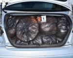 Резани дуван у гепеку аутомобила