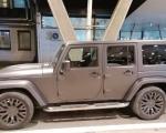 Луксузни џип без папира задржан на Градини