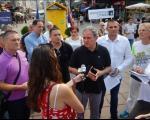 """Lutovac: Došao sam u Niš da sa građanima razgovaram o """"Savezu za Srbiju"""""""