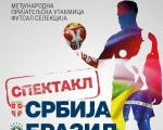 Futsal spektakl u Nišu: Reprezentacija Srbije protiv Brazila