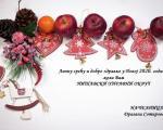 Novogodišnja čestitka Dragane Sotirovski, načelnice Nišavskog okruga