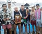 Plivanje za Bogojavljenski krst i ove godine u Grdelici uz pihtije i kuvanu rakiju