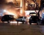 Изгорела три аутомобила у центру Власотинца