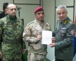 Pripadnici Oružanih snaga Iraka završili u Nišu kurs iz oblasti vojne medicine