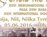 """Međunarodna izložba pasa svih rasa """"CACIB Niš 2016"""""""