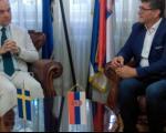 Пријем за црногорско-српског зета, амбасадора Шведске