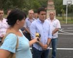 Нишка Бања: Реновиран спортски терен у Првој Кутини