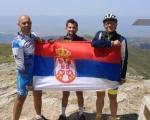 Врањски бициклисти освојили Кајмакчалан