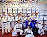 "I juniori najbolji u zemlji - 10 medalja za Džudo klub ""Kinezis"" na Prvenstvu Srbije"