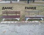 """Opština Medijana građanima pred praznike: Popravljene i ofarbane klupe u """"Čairu"""""""