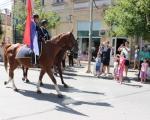 Дефиле припадника чете полицијских коњаника