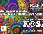 """""""Kosa"""" ponovo u Nišu: HARMONY AND UNDERSTANDING večeras na festivalu """"PozizivNI"""""""