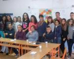 Посебна деца, након посете Јагодини, у дружењу са средњошколцима у Житорађи