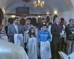 Ниш: Групно крштење православних Рома у цркви Светог Пантелејмона