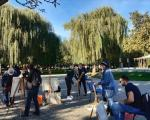 Ликовна колонија у Светосавском парку