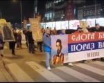 У Нишу одржан други Молебан и Крсни ход подршке СПЦ у Црној Гори (ВИДЕО)