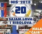У недељу 29. априла, затвара се 20. Јубиларни Сајам лова и риболова у Нишу
