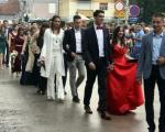 Младост и прва зрелост, традиционална шетња матураната Гимназије