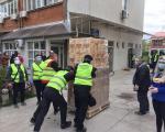 Gradskoj opštini Medijana Kompanija Mozzart donirala 500 paketa namirnica i hemije