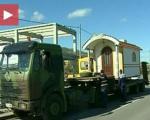 Montažna crkva izgrađena u Nišu, dar vojsci