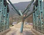 Oštećen most u Vranjskoj Banji