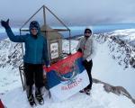 Фото вест: Застава Палилуле на највишем врху Балкана