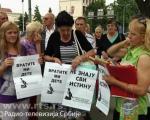 Туга: Протест родитеља којима су нестале бебе