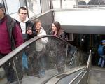 Stepenice u podzemnom prolazu nisu pokvarene
