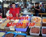 Pijačni barometar: Cene na pijacama u Nišu za 21. avgust 2016.