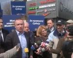Стипендије за талентоване: Пајтић разговарао са новинарима и грађанима у центру Ниша