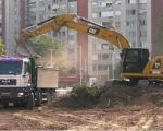 """Почела изградња парка на Булевару Немањића коју финанасира компанија """"Делта"""""""
