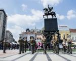 Promenadni defile vojnog orkestra povodom Dana Vojske