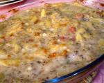 Stari recepti juga Srbije: Zapečena piletina sa gljivama, krompirom i kajmakom