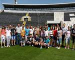 Нишки основци обишли највеће спортске објекате у Београду