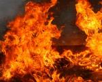 Запалило се такси возило у Нишу