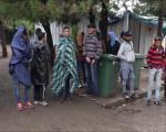 Preševo: Diplomate obišle izbeglice