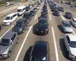 Колоне возила на прелазу Прешево: За 24 сата, 70 хиљада путника