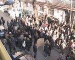 Prosvetari: Štrajk i protest ispred Školske uprave u Nišu