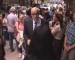 Protest zbog vraćanja suspendovanog profesora na posao (VIDEO)