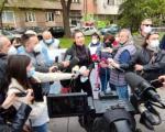 Протест породица страдалих на Булевару Медијана - траже строжије казне за бахате возаче