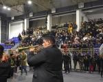 Romska muzika uveselila Leskovčane pred praznik
