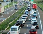 Gužve na graničnim prelazima i na autoputu Niš - Beograd