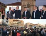 """""""Savez za Srbiju"""" održao skup ispred TC """"Kalča"""" u Nišu"""