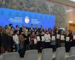 Министар Ђорђевић уручио женама југа Србије, сертификате за ткање, нецање и вез