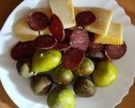 Stari recepti juga Srbije: Orijentalo hladno meze - smokve, sudžuk i sir